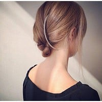Personal Unique Curved Shape Design Hairpin
