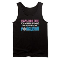 Too Cute Volleyball Men's Dark Tank Top> Too Cute Volleyball> InsanityWear.com T-shirts and Gifts