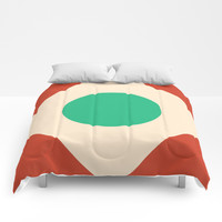 Red Peak Comforters by spaceandlines