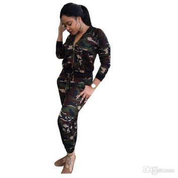 shark Camouflage suit PINK Womens Tracksuit fashion Hooded Crop Top and Long Pants 2 Piece Set Female Casual Pants Suits Set jus