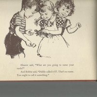 Vintage Children's Book, Tit For Tat Tommy By Gertrude Blumenthal, 1944 Solid Hardcover, Cute Children's Story