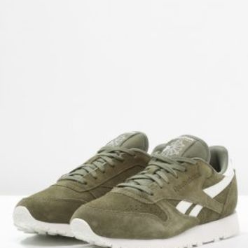 Reebok Classic CLASSIC - Trainers - canopy green/chalk - Zalando.co.uk