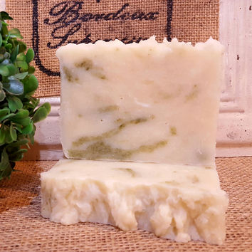 All-Natural Patchouli With Hemp Seed Oil Handmade Vegan Soap