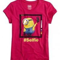 Minion Selfie Graphic Tee