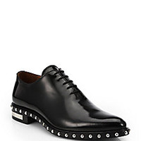 Givenchy - Richelieu Studded Lace-Up Dress Shoes - Saks Fifth Avenue Mobile