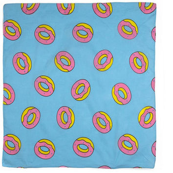 ALLOVER DONUT BANDANA BLUE – Odd Future
