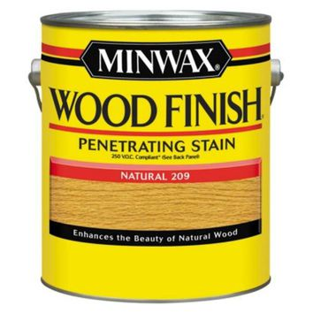Minwax® 71070 Wood Finish™ 250 VOC Compliant Penetrating Stain, Natural, 1 Gallon
