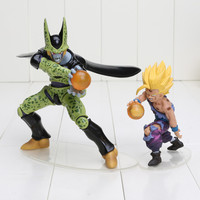 Dragon Ball Z Cell and Son Gohan action figure
