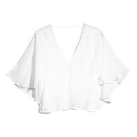 H&M - Viscose Blouse - White - Ladies