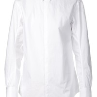 Song For The Mute hooked collar shirt