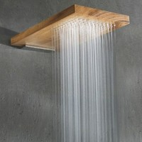 Fancy - Terra Marique Natural Wood Shower Head