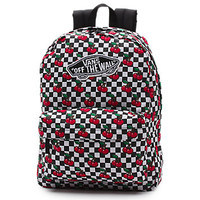 Cherry Checkers Realm Backpack | Shop at Vans