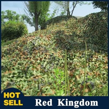 High Quality Hunting Jungle Cover Camouflage Woodland Multi-purpose Camo Netting Camping 2X3M Free Shipping