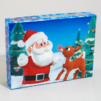 Rudolph & Santa Holiday Card Set | Christmas Card Set | fredflare.com