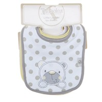 5pk Bib Set Yellow Grey Bear 351232571 | Bibs | Bibs | Feeding | Burlington Coat Factory