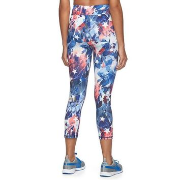 Juniors' Marvel Captain America Graphic Capri Leggings