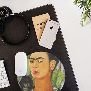 Frida Kahlo Painting  Mouse Pad Mouse Mat Design