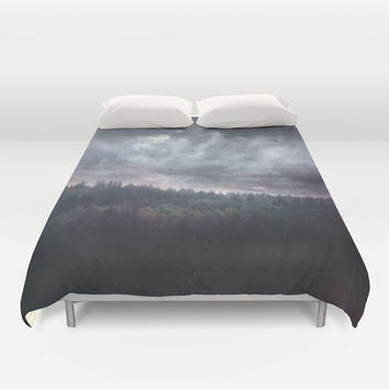 The hunger Duvet Cover by HappyMelvin | Society6