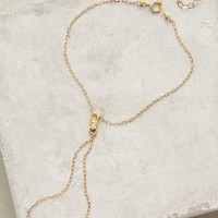 Marida Jewelry Juno Hand Chain in Gold Size: One Size Accessories