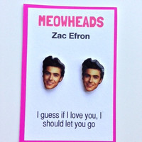 Zac Efron earrings