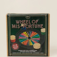 Wheel Of Mis-Fortune Drinking Game