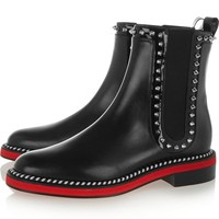 Studded Chelsea Ankle Boots