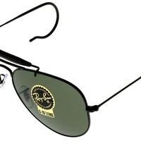 Ray Ban Sunglasses Outdoorsman Aviator Unisex Browbar Enhanced RB3030 L9500
