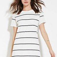 Pinstripe T-Shirt Dress | Forever 21 - 2000169845