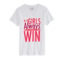 Under Armour Girls UA Girls Always Win T-Shirt