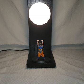 Mini Goku Spirit Ball Lamp Genki-Dama Figurine DBZ Anime Magna Dragon Ball Free Figurine With Purchase Of Lamp