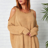 Cupshe Saturday Night Off the Shoulder Sweater
