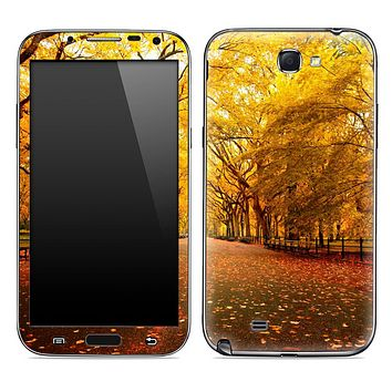 Fall Leaves Skin for the Samsung Galaxy Note 1 or 2