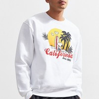 Snoopy California Crew Neck Sweatshirt | Urban Outfitters