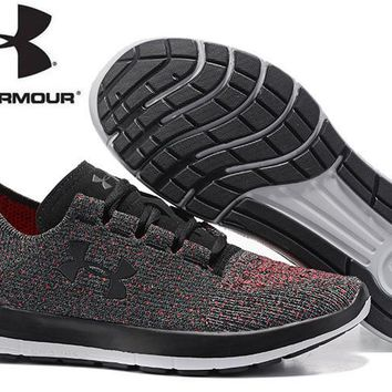 2017 Summer New Arrival UNDER ARMOUR Flyknit UA Slingride TRI Light Running Shoes,Men's Breathable Outdoor Sports Shoes Sneakers