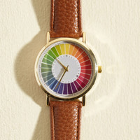 Reinventing the Color Wheel Watch