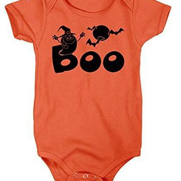 Shirts By Sarah Baby First Halloween Boo! Ghost Bodysuit Creeper