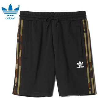 DCCK6HW Adidas' Fashion Casual Camouflage Stripe Men Leisure Pants Sweatpants Shorts