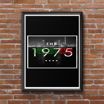 The 1975 city Photo Poster