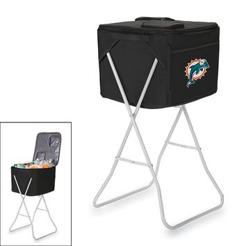 Picnic Time Miami Dolphins Party Cube (Black)