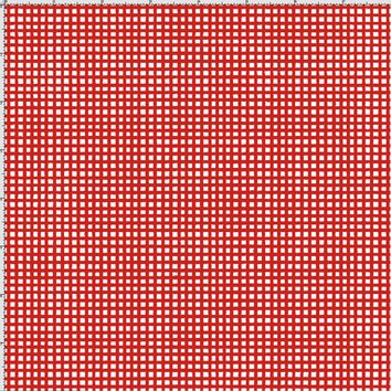 Chipper Check Red Fabric