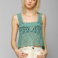 Staring At Stars Crochet Tank - Urban Outfitters