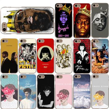 Notorious BIG Biggie Pulp Fiction Troye Sivan Case for iPhone X 8 7 6S 6 Plus 5S
