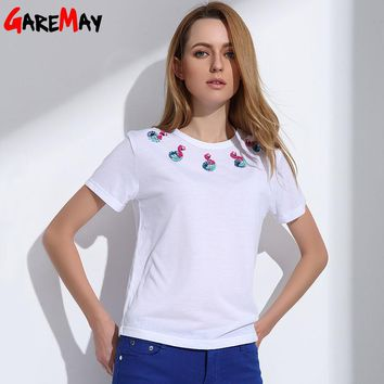 T-shirts Tops Best Friends Cotton T Shirt White Clothing Female Tee Shirt For Women
