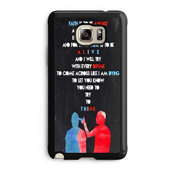 twenty one pilots quotes samsung galaxy note 5 note edge cases