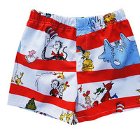 Children Dr. Seuss Cotton Boxers