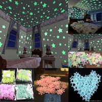 Glow Luminous Stars Baby Kids Bedroom