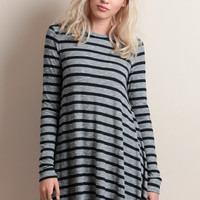 Cut To The Chase Striped Dress
