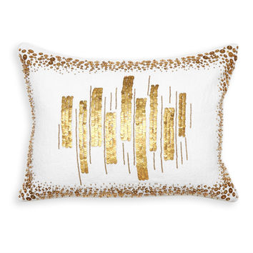 Talitha Bars Throw Pillow