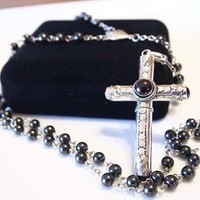 Cruel Intentions Rosary Stash Necklace
