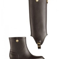 Hunter Ladies Belsize Calidore 2-in-1 Wellington Boots Brown | LINEAFASHION.COM Online Fashion Store